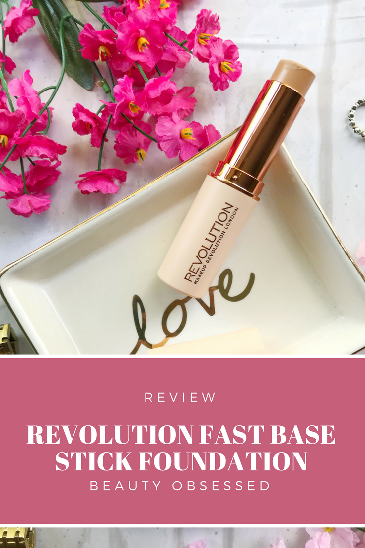 Review Revolution Fast Base Stick Foundation! Makeup