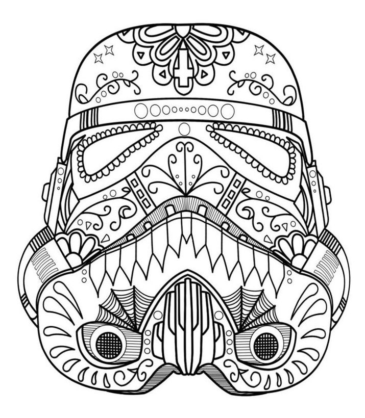Mickey Mouse Star Wars Coloring Pages Taken