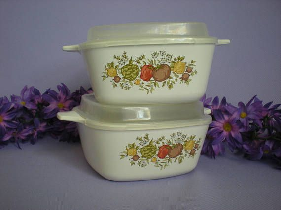 Spice of Life Storage Containers Corning Ware Small Containers
