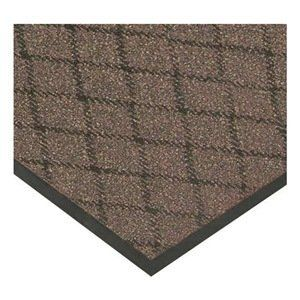 Entrance Mat Vinyl Brown 4 X 6 Ft By Notrax 157 64 Entrance Mat Indoor Material Vinyl W Recycled Top Color Entrance Mat Outdoor Gardens Outdoor Decor