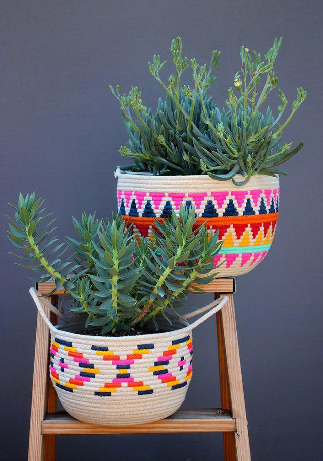 14 id es de cadeaux de no l faire soi m me crafty goodness rope - Deco jardin fait main caen ...