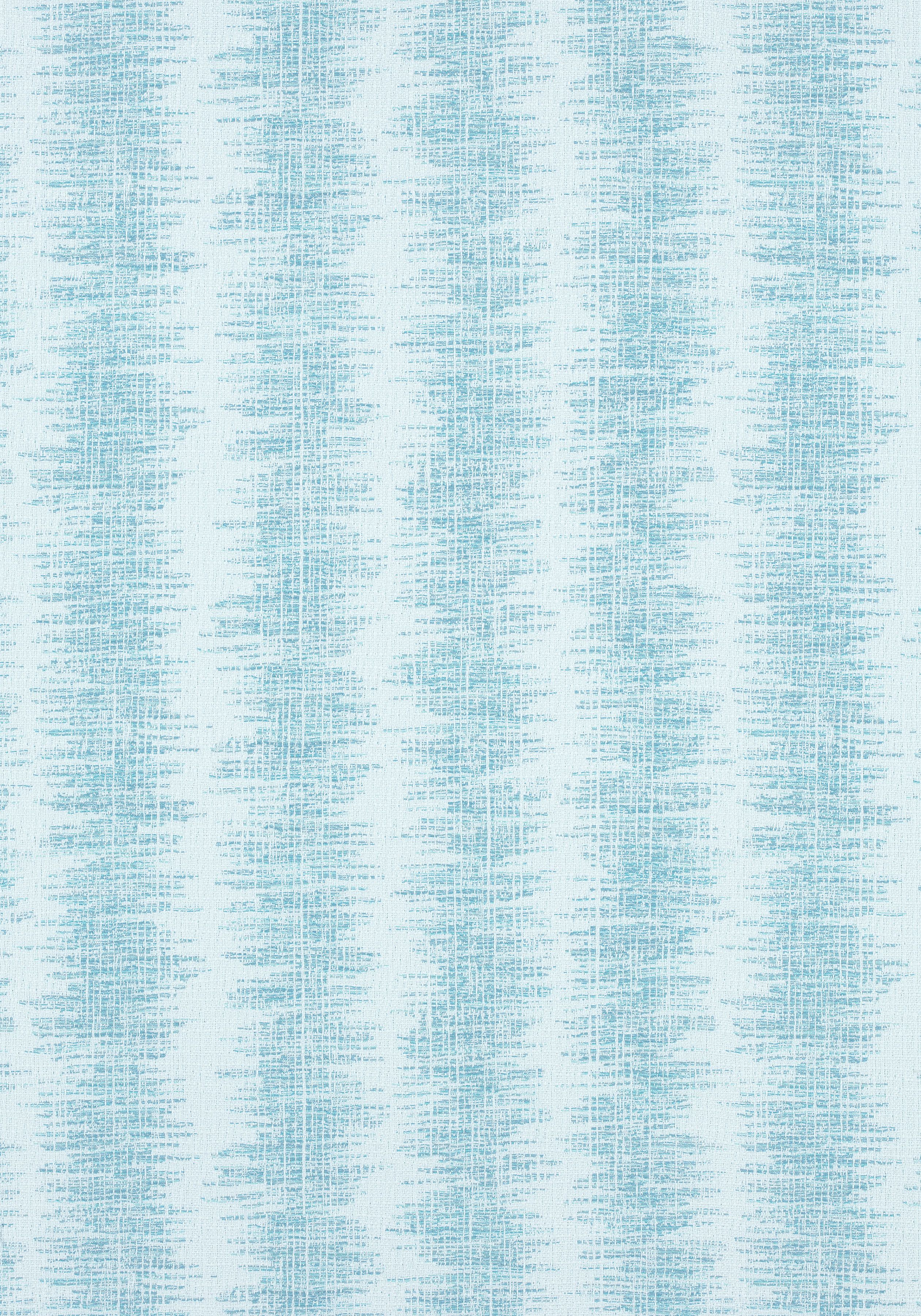 DANUBE IKAT STRIPE, Aqua, W80541, Collection Oasis from Thibaut