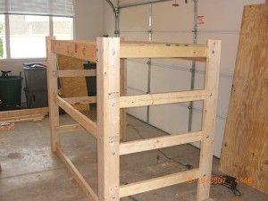 Loft Bed Plans | How To Build A Loft Frame For Dorm Bed | Interior  Decorating Part 55