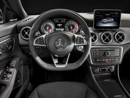 Mercedes Shooting Brake Cla Klasse Orange Art Autoliebe