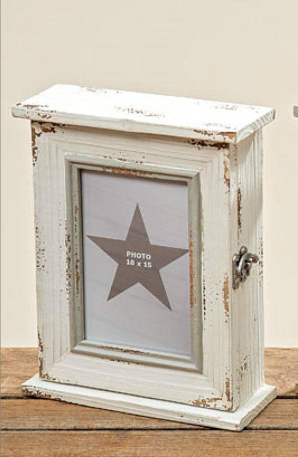 schl sselkasten schl sselschrank creme holz vintage foto. Black Bedroom Furniture Sets. Home Design Ideas