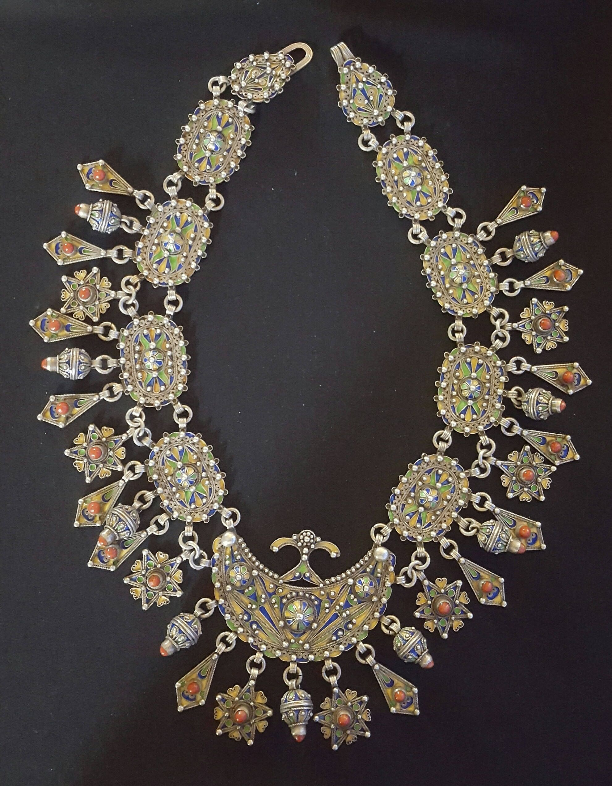 our necklace broche jewelry to inspire of the brides silver archive morocco desi world weddings berber around