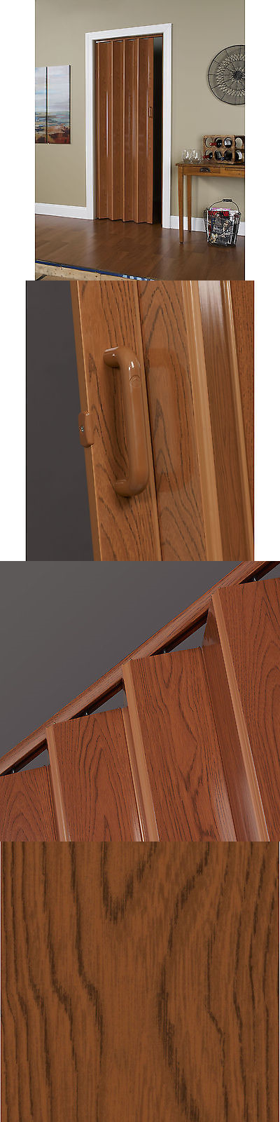 Doors 85892: 48 Inch X 80 Inch Folding Door In Pecan Brown -> BUY IT ...