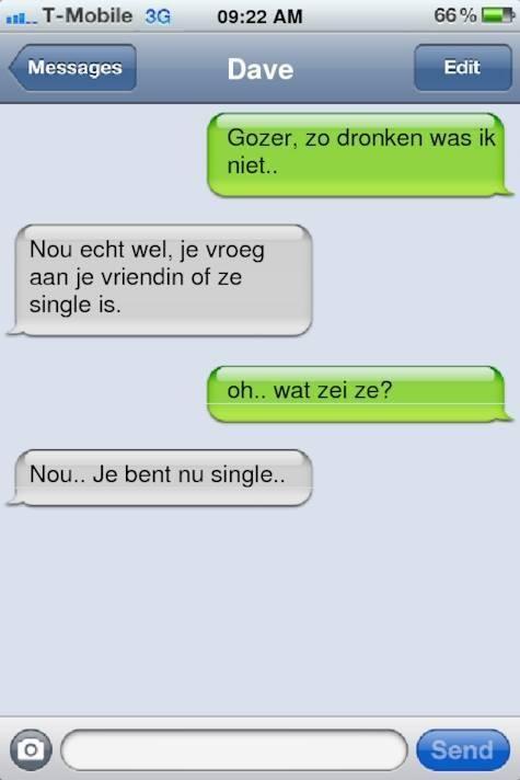 leuke flirt smsjes Eigentijds flirten, via sms of whatsapp, moet je zonder meer kunnen nietwaar zo kun je op een originele manier en heel eenvoudig bij je eerste leuke.