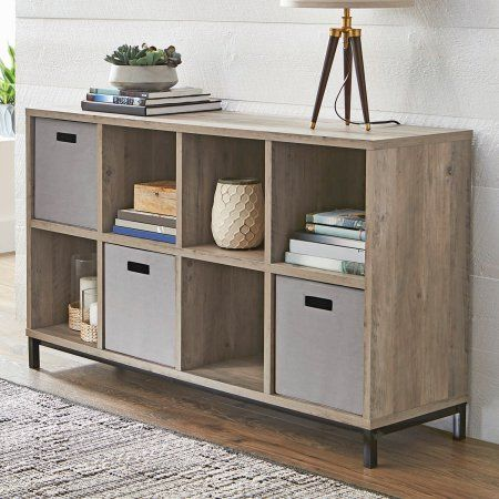 Set Of 2 Better Homes And Gardens 8 Cube Storage Organizer With