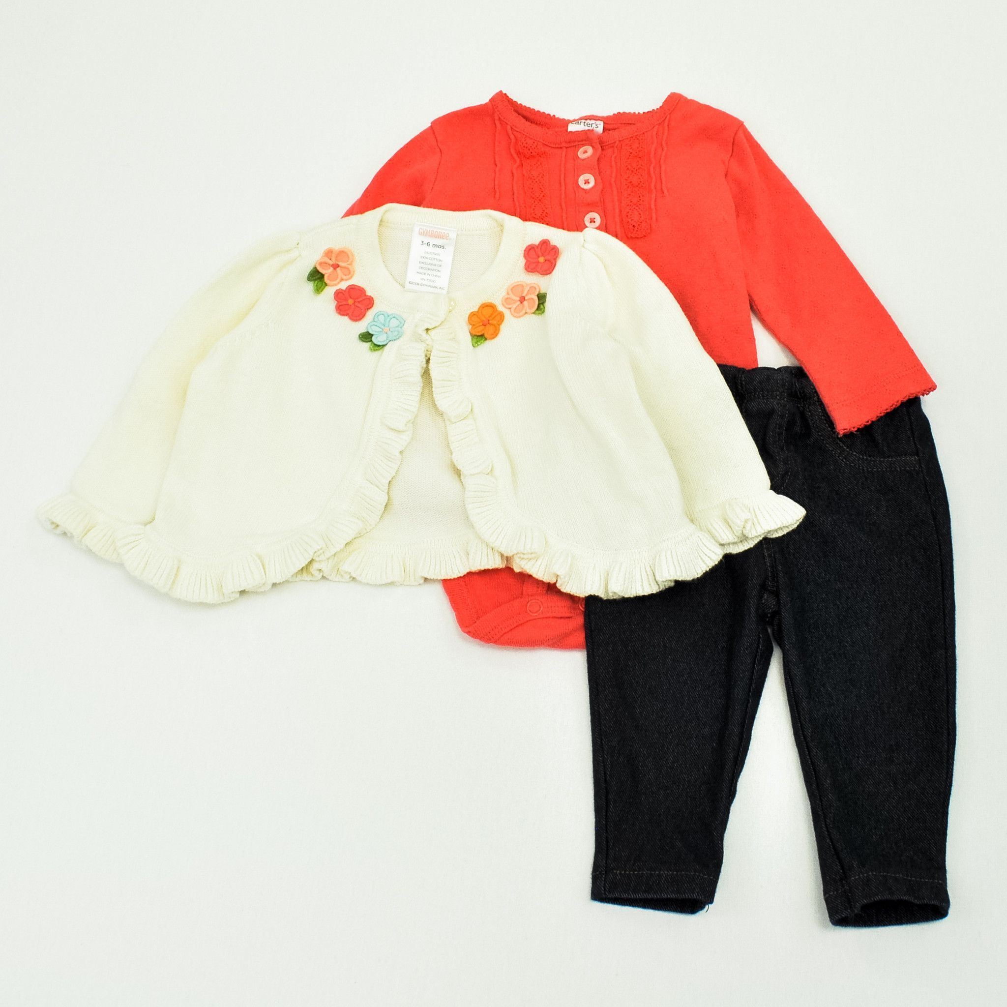 Baby Girl | 3-6 Month Lot: 11 Pieces