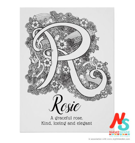 Rosie from the rose, which features in this new doodle art ...
