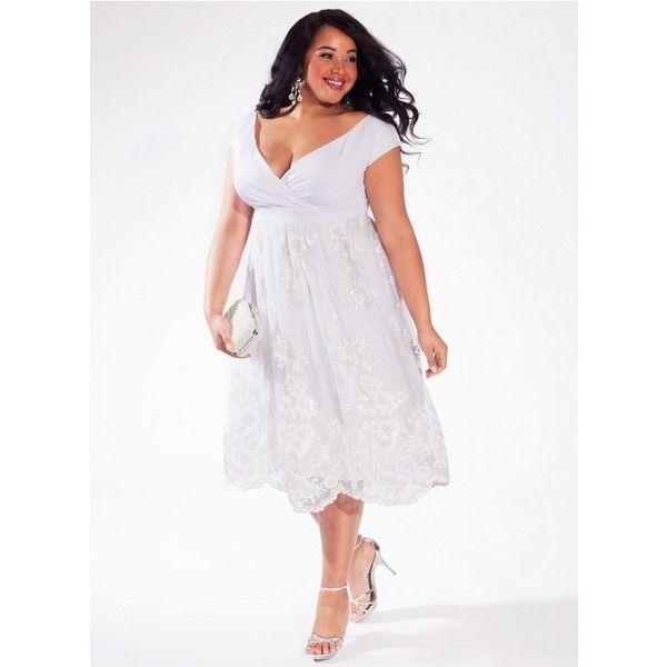 Paulette Plus Size Wedding Dress Igigi 545 Nzd Via Polyvore