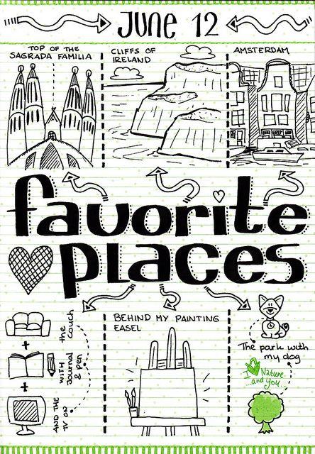 30 Days II Favorite Places by MikkaArt, via Flickr