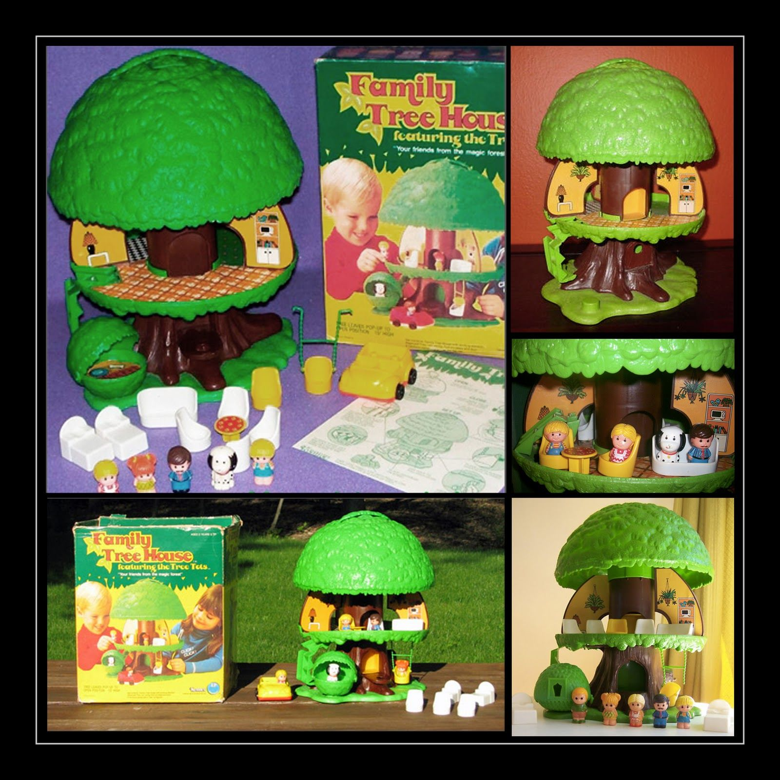 Delightful Kenner Treehouse Part - 5: Pop Up Toy Tree House | VINTAGE U002775 KENNER TREETOTS POP UP TREE HOUSE  PLAYSET