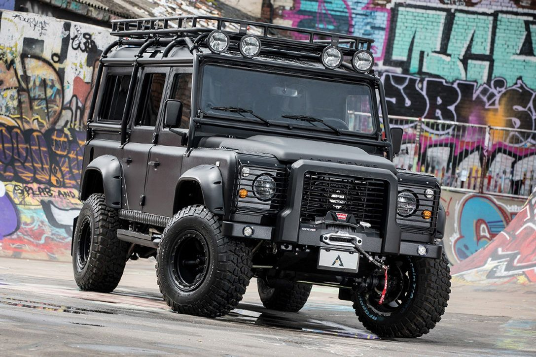 The Land Rover Defender Black Hawk Is A V8 Powered 4x4 Brute