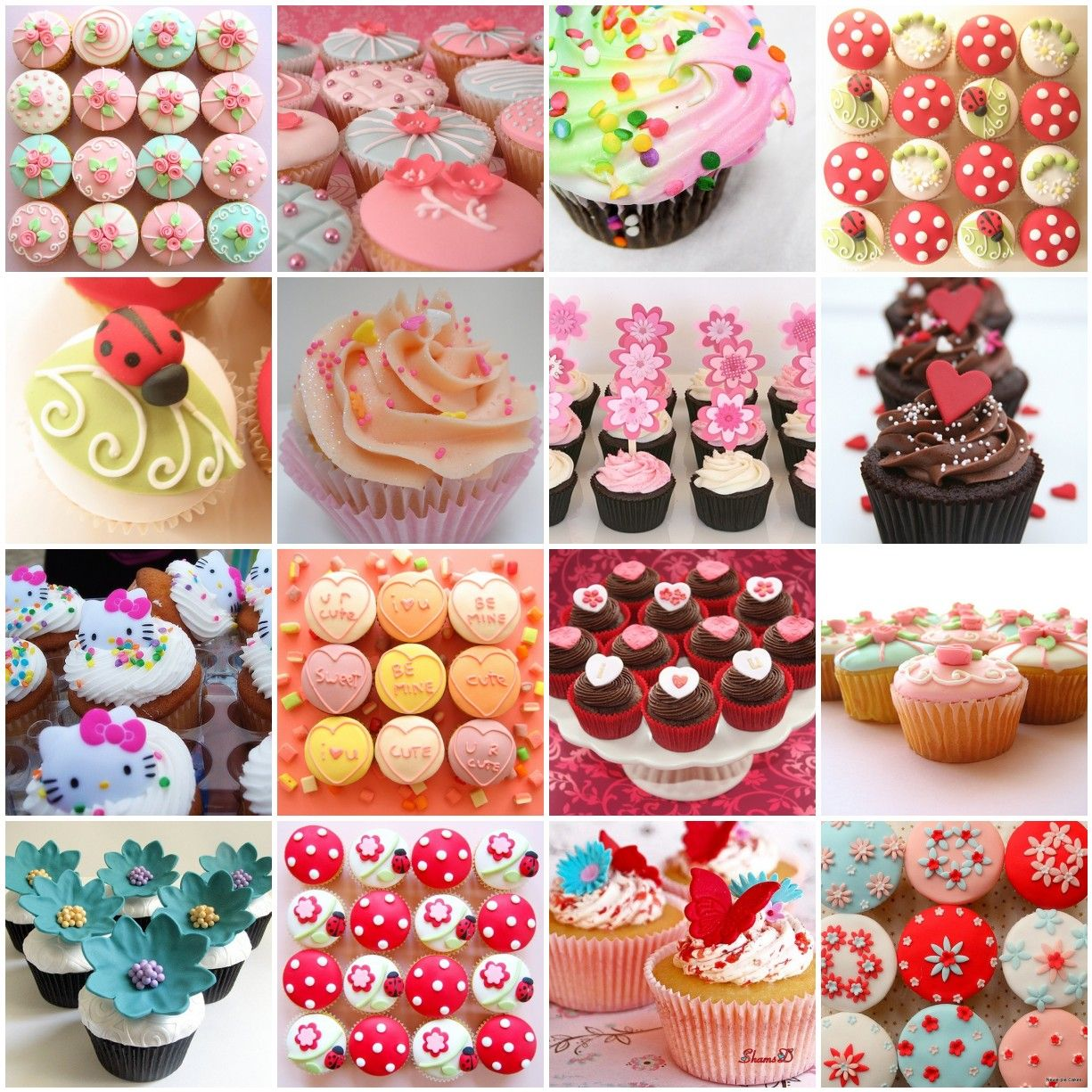 cupcake decorating ideas Party goods Pinterest Cake