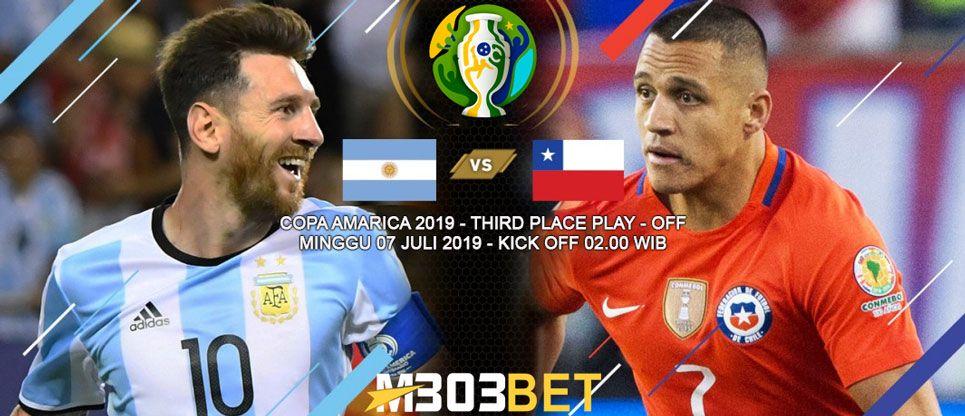 Prediksi Copa America  Argentina Vs Chile Menyelamatkan Muka