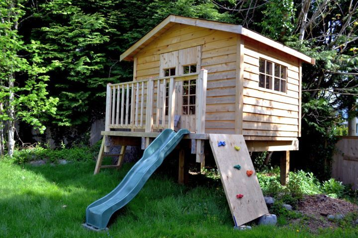 17 Fun Looking Tree House On Stilts Ideas House On Stilts Play Houses Tree House