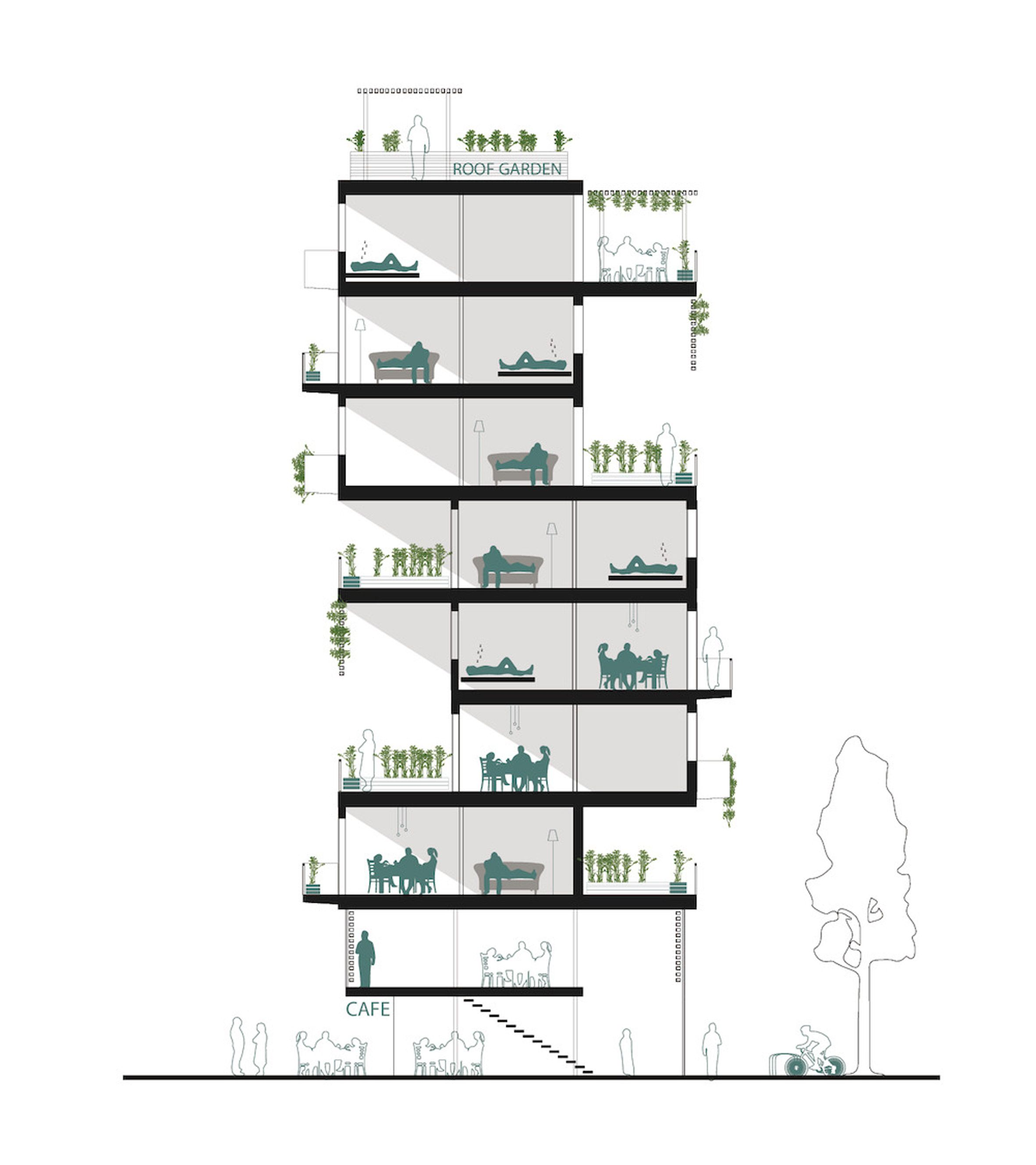 Weston Williamson Proposes Incremental Building For Palestinian Housing Shortage Residential Architecture Weston Architecture Model