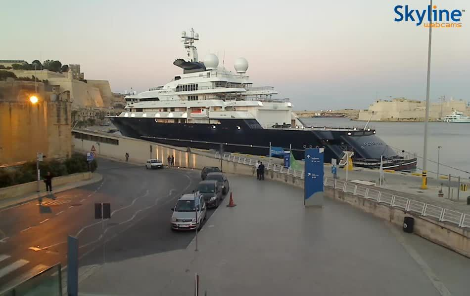 Live Cam Grand Harbour - Valletta