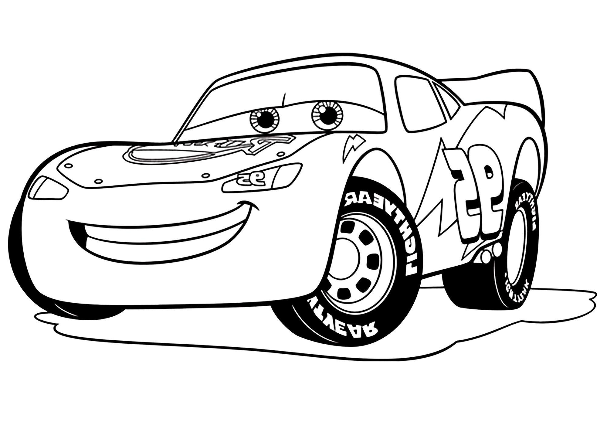 12 Élégant De Voiture Cars Dessin Stock  Cars dessin, Coloriage