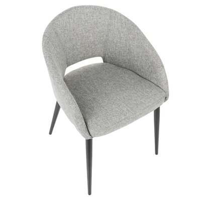 Wrought Studio Evanoff Upholstered Dining Chair Upholstery ...