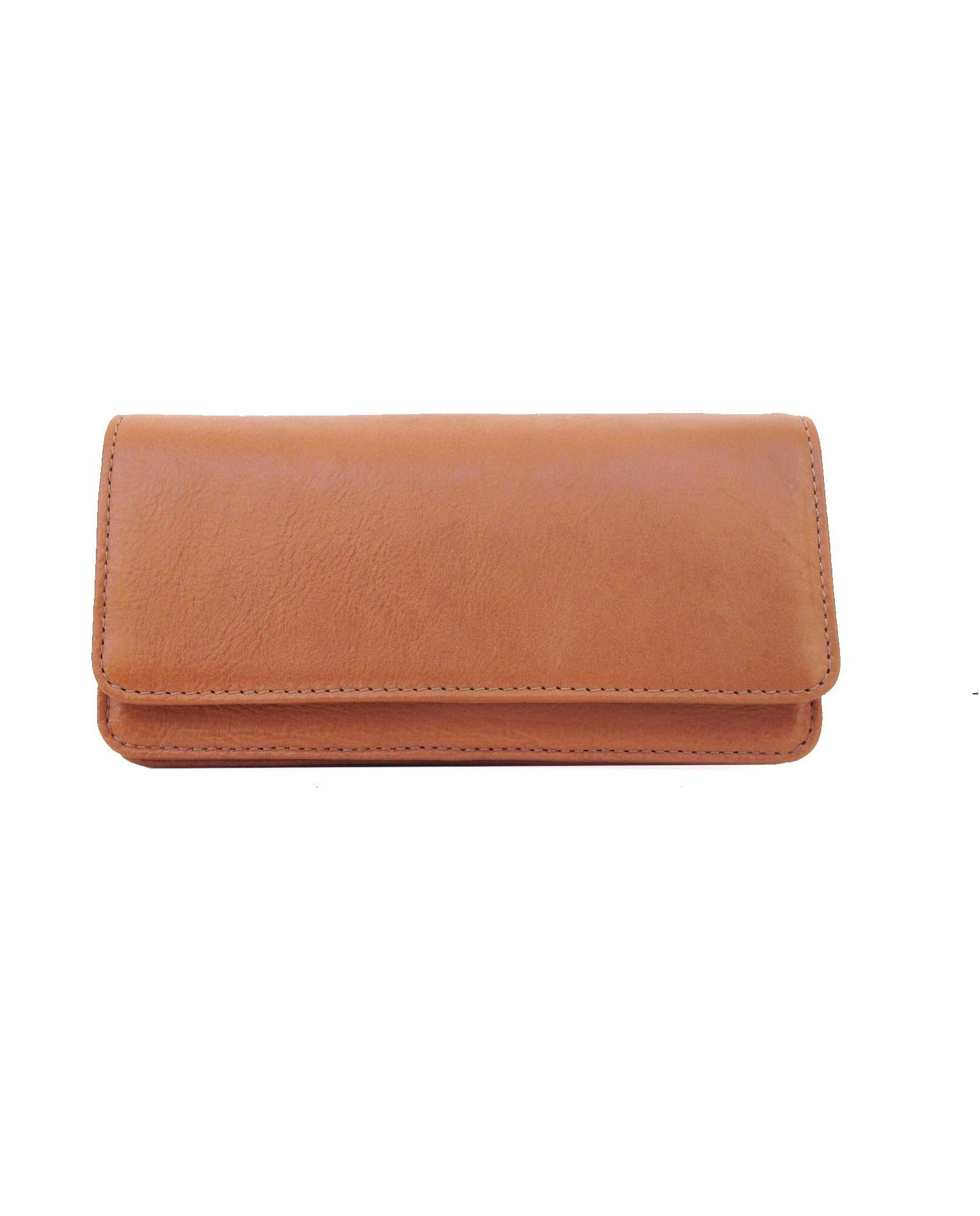 8590568f9 Carteira de couro feminina caramelo - LEPRERI | Leather Wallet ...