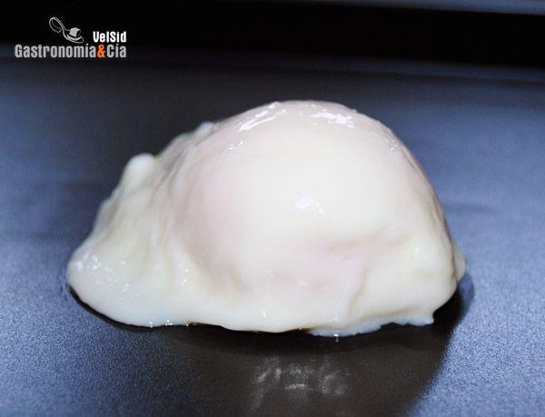 como hacer huevo pasado en microondas
