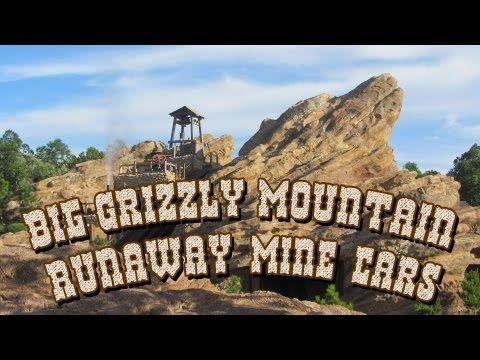 HKDL - Big Grizzly Mountain Runaway Mine Cars 灰熊山極速礦車 (Front Row POV)
