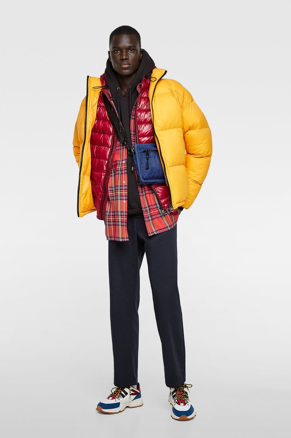 d84ecfa2 CAZADORA ACOLCHADA OVERSIZE in 2019   clothes   Oversized jacket ...