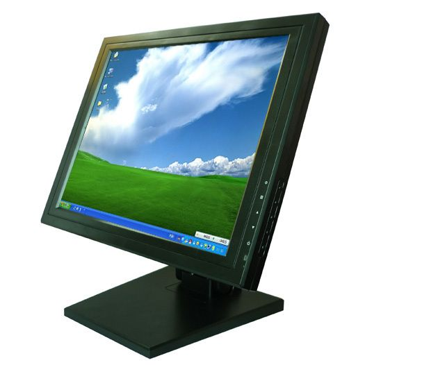 Super Low Price 15 Inch Stand Lcd Pos Monitor Touch Screen Lcd Monitor Lcd Monitor Computer Peripherals Computer