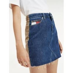 Tommy Hilfiger Mini-Rock aus Cord-Denim-Mix 32 Tommy Hilfiger #rockandrolloutfits