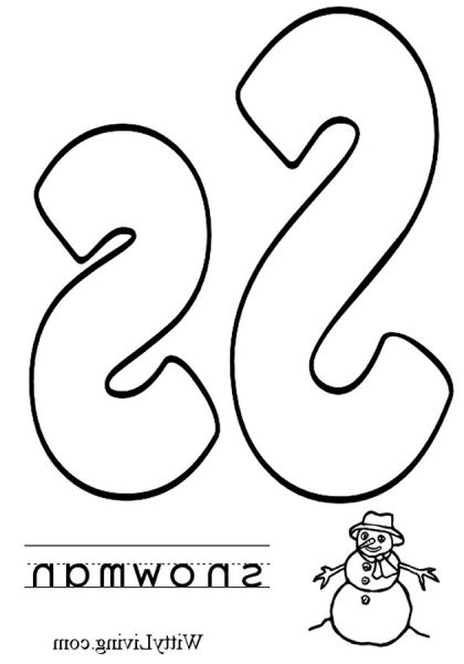 The Best Letter S Coloring Pages  HttpColoringAlifiahBizThe