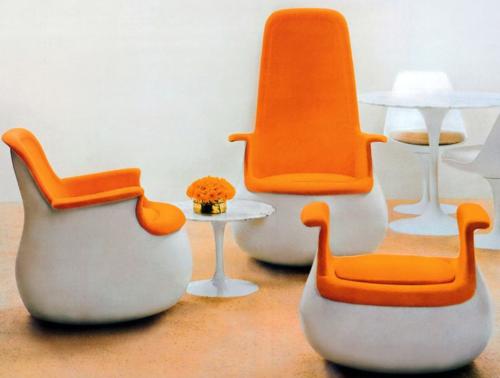 Fauteuil Culbuto Marc Held Knoll 1967 Mobilier De Salon Fauteuil Mobilier