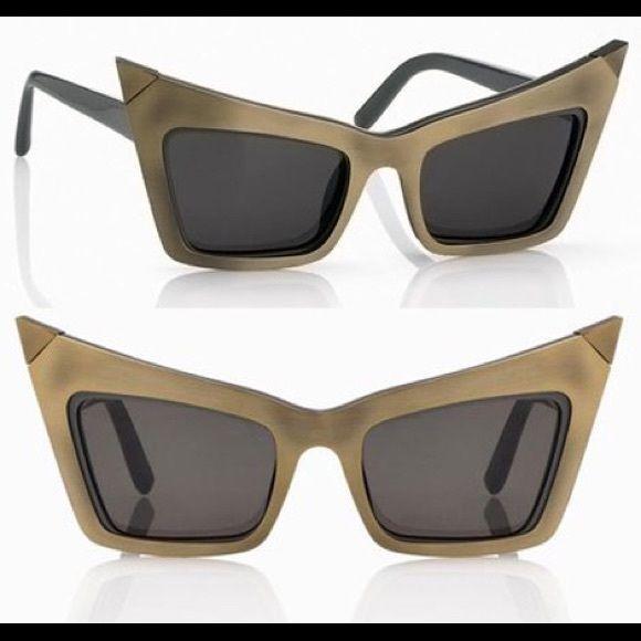 8d7c278994 Alexander wang x Linda farrow cat eye sunglass Brand new