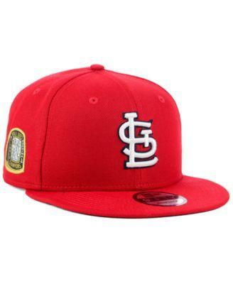 the best attitude 163b7 c405b New Era St. Louis Cardinals Title Trim 9FIFTY Snapback Cap - Blue Adjustable