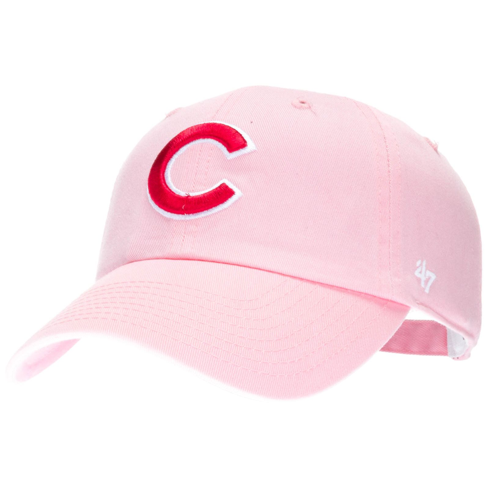 classic fit e760f 57383 Chicago Cubs Women s Pink with Red