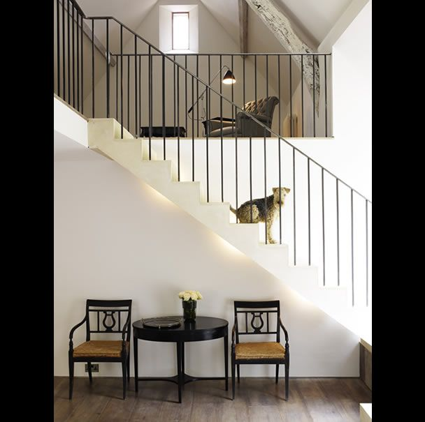 D E S I G N S Love The Stairway And Simple Iron Railing