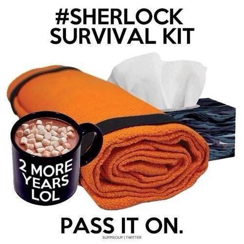 Well Sherlockians, we are back on hiatus. What a ride series 3 was! I am quite sure that we could all do with this, so please take one and pass it on.