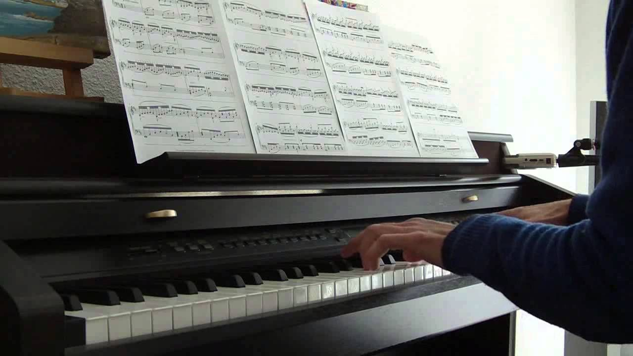Michael Nyman La leçon de piano (piano solo)