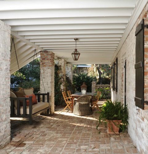 Porch // Carter Kay Interiors // Isle Of Hope, GA (With