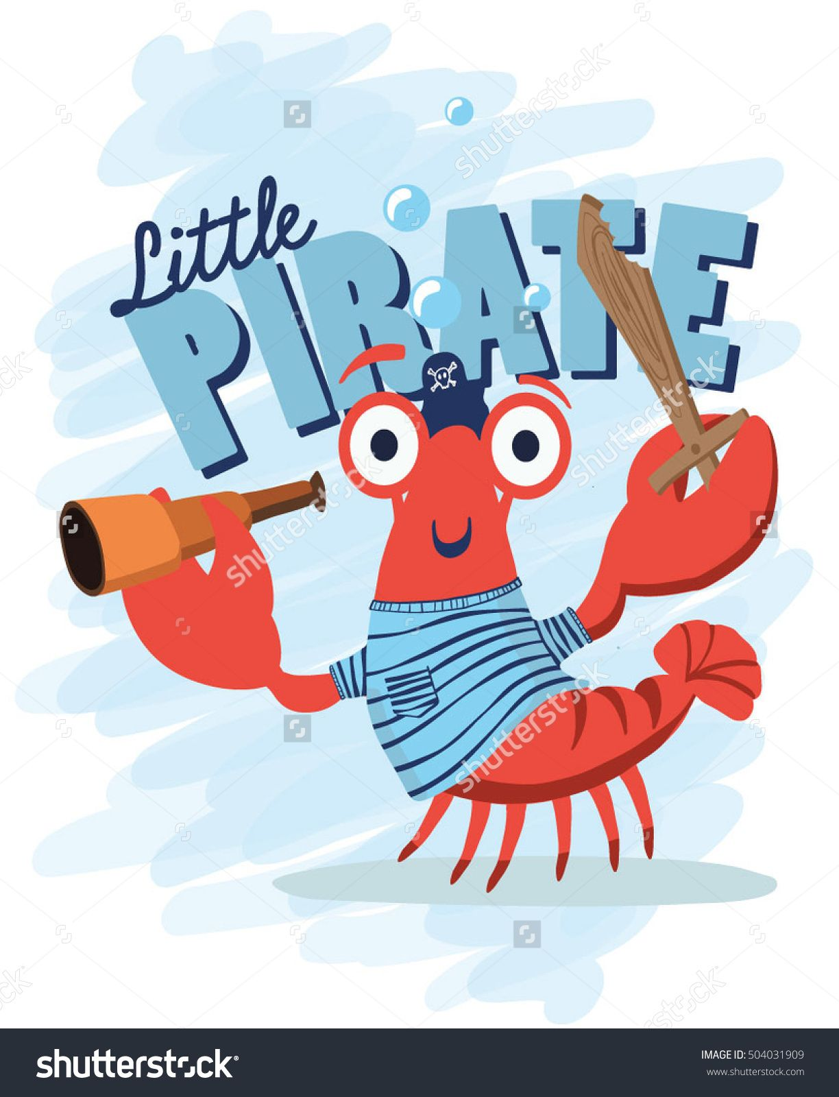 crab pirate crab crab icon vector cartoon crab funny vector