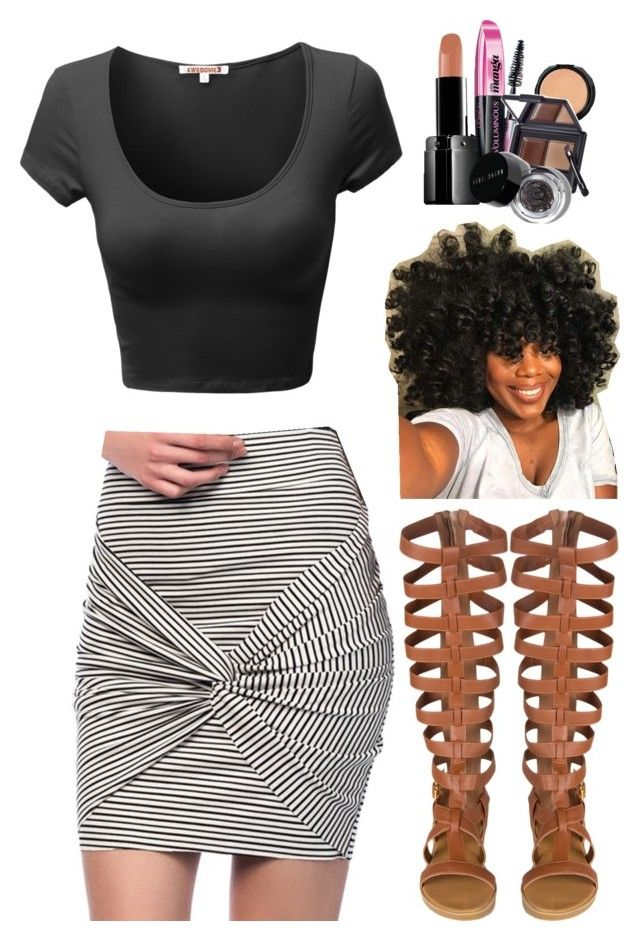 """""""~She bad  but whats new?"""" by destiny-xcx ❤ liked on Polyvore featuring LORAC, Illamasqua, L'Oréal Paris and Bobbi Brown Cosmetics"""