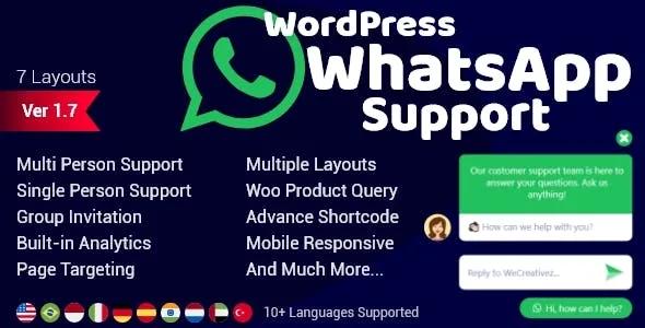 5 Best Wordpress Whatsapp Button Plugins Wpall Club Wordpress Plugins Free Wordpress Plugins Wordpress