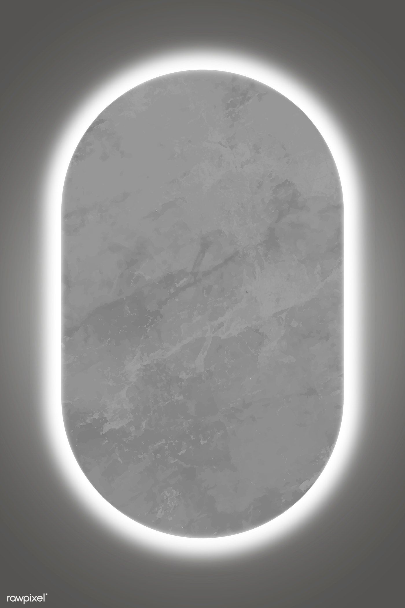 Download Premium Vector Of Oval White Neon Light Frame Template Vector Frame Template Light Background Design Neon Lighting