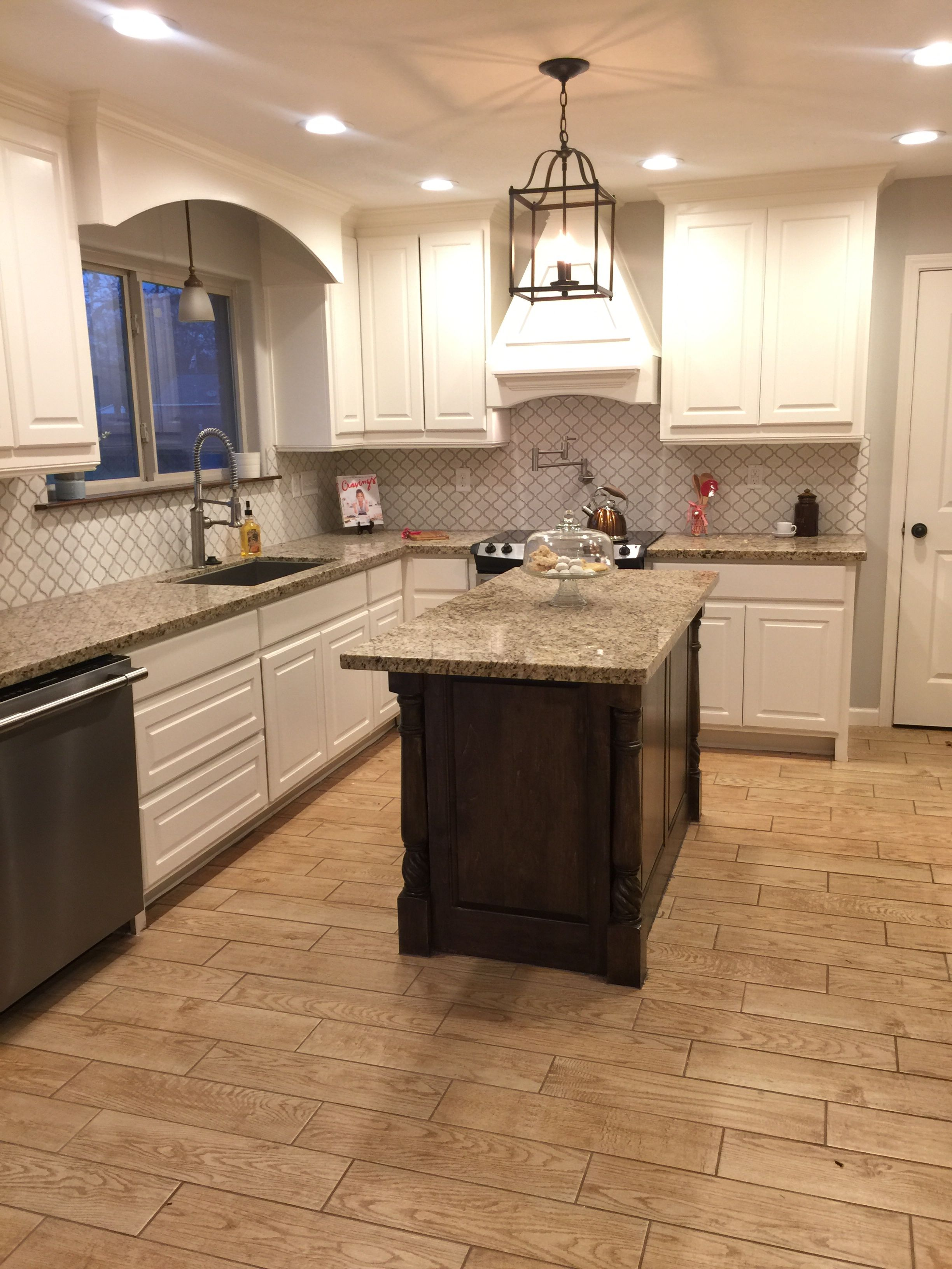 1970s ranch kitchen remodel makeover grand kitchen with stained island open concept and custom on kitchen remodel ranch id=72938