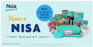 TODAY ONLY, Twitter Giveaway - RT to win a Dr. Oetker Baking Hamper!