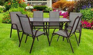 Vidaxl Sedie ~ Tavolo da giardino e sedie terrazzo