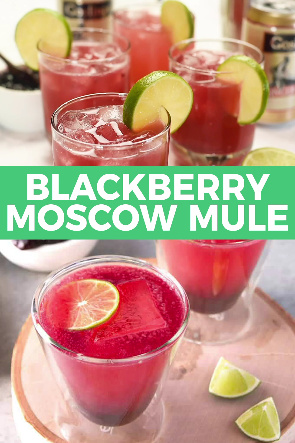 Photo of Blackberry Moscow Mule
