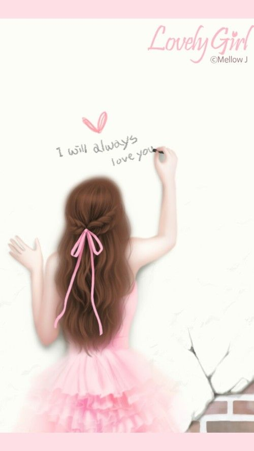 Gambar Art Girl Enakei And Girl Art Girl Cute Cartoon Girl Cute Girl Drawing